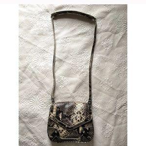 Rebecca Minkoff Snake Leather Crossbody